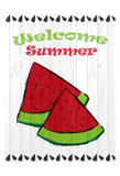 Summer Watermelon Posters by Kimberly Allen