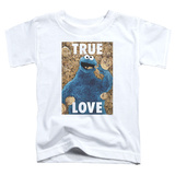 Toddler: Sesame Street- Cookie Monster True Love T-shirts