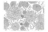 Wild Hydrangeas Less Posters by Pam Varacek