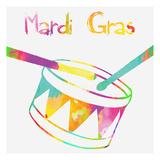 Mardi Gras Poster by Sheldon Lewis