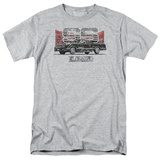 Chevy- Distressed El Camino SS T-shirts