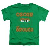 Toddler: Sesame Street- Oscar Sees You Shirts