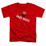 Toddler: Sesame Street- Elmo Free Hugs T-shirts