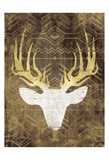 Deer In The Light Mate Poster by Jace Grey