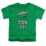 Toddler: Sesame Street- Oscar Can It! T-shirts