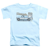 Toddler: Chevy- Distressed Silverado & Dash Emblem T-Shirt