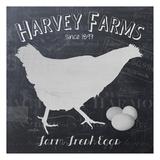 Chalkboard Hen Prints by Diane Stimson