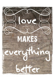 Little Bit More Love Posters by Sheldon Lewis