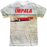 Chevy- Beach Impala At The Beach Shirts