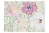 Botanical Bloom Print by Jeffery Cadwallader