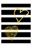 Lovers Hearts Posters by Sheldon Lewis