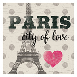 Paris In Love Prints by  Ophelia & Co.