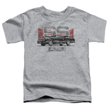 Toddler: Chevy- Distressed El Camino SS T-Shirt