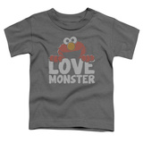Toddler: Sesame Street- Elmo Love Monster T-Shirt