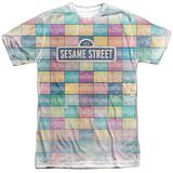 Sesame Street- Logo Color Block T-shirts