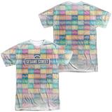 Sesame Street- Logo Color Block (Front- Back) Shirts