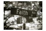 Faith and Love Affiches par Sonja Quintero