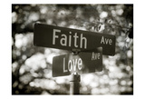 Faith and Love Prints by Sonja Quintero
