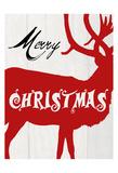 Merry Christmas Print by Sheldon Lewis