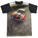 Chevy- Camaro SS Black Back T-shirts