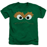 Juvenile: Sesame Street- Oscars Face T-Shirt