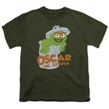 Youth: Sesame Street- Smiling Oscar Shirts