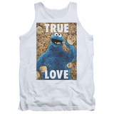 Tank Top: Sesame Street- Cookie Monster True Love Tank Top