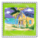Beach-Front Cottage Prints by Anne Ormsby