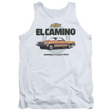 Tank Top: Chevy- El Camino Incredible Truck Tank Top