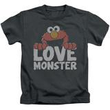 Youth: Sesame Street- Elmo Love Monster T-shirts