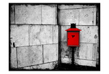 Red Mailbox Posters by Kimberly Allen