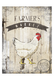Farmers Market Posters by  OnRei