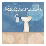 Replenish Sink Prints by Lauren Gibbons