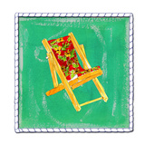 Beach Chair Posters by Anne Ormsby
