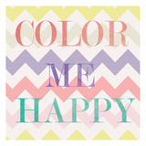 Color Me Happy 1 Prints by  Ophelia & Co.