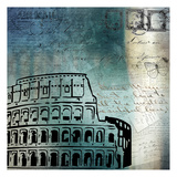 Roman Blue Prints by Kimberly Allen