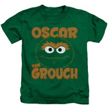 Juvenile: Sesame Street- Oscar Sees You T-shirts