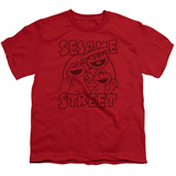 Youth: Sesame Street- Group Crunch Shirts