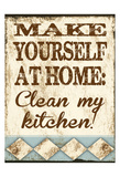 Clean My Kitchen Posters by Melody Hogan