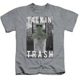 Youth: Sesame Street- Oscar Talkin Trash T-shirts
