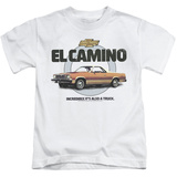 Juvenile: Chevy- El Camino Incredible Truck T-shirts