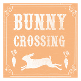 Bunny Crossing Posters by  Ophelia & Co.