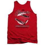 Tank Top: Chevy- Retro Camaro Tank Top