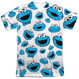Sesame Street- Lots Of Cookie Monster T-shirts