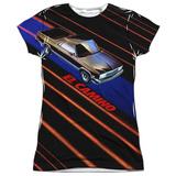 Juniors: Chevy- Laser Camino T-Shirt