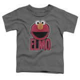 Toddler: Sesame Street- Big Smile Elmo Shirts