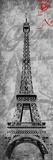 Paris Postal Poster by Jace Grey