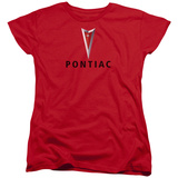Womens: Pontiac- Centered Arrowhead Shirt