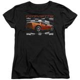 Womans: Chevy- Orange Z06 Vette T-Shirt