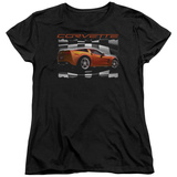 Womens: Chevy- Orange Z06 Vette T-Shirt